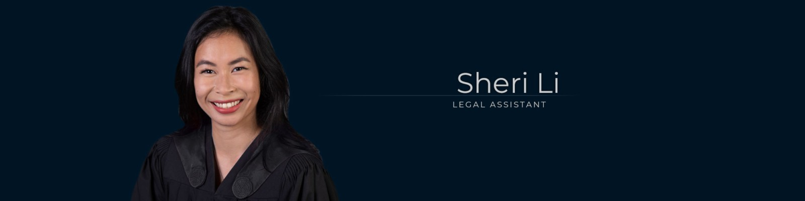 Sheri Li – Legal Assistant at Dominion GovLaw LLP