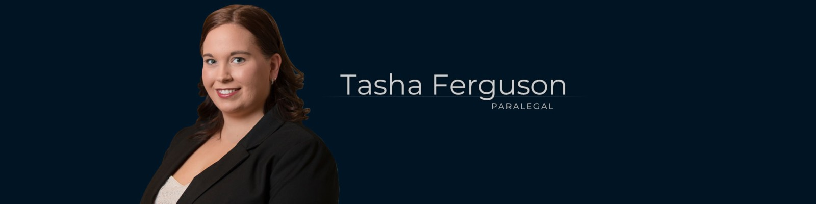 Tasha Ferguson – Paralegal at Dominion GovLaw LLP