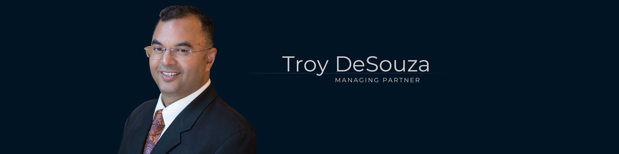 Troy DeSouza – Lawyer at Dominion GovLaw LLP
