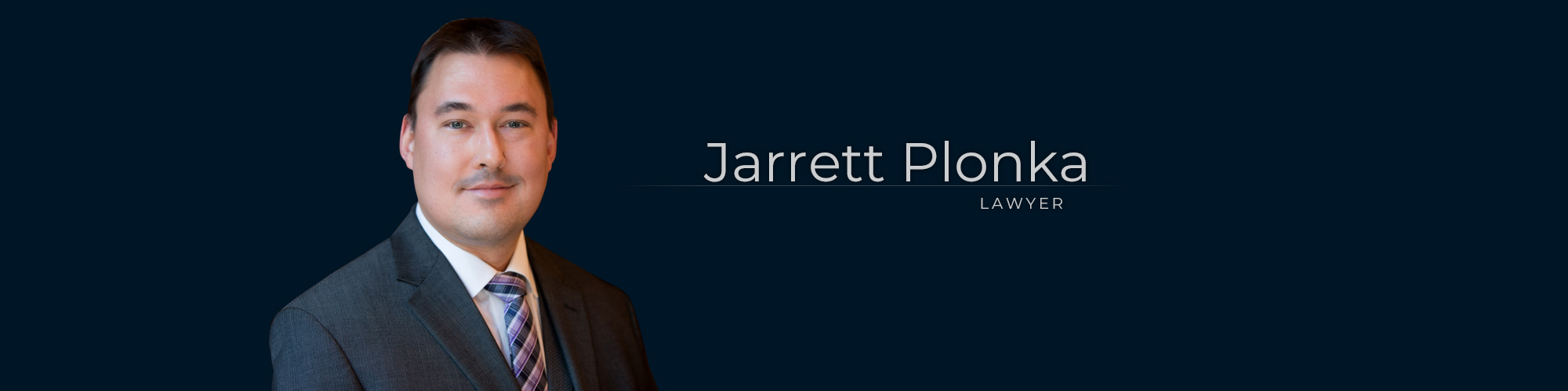 Jarrett Plonka – Senior Associate Lawyer at Dominion GovLaw LLP