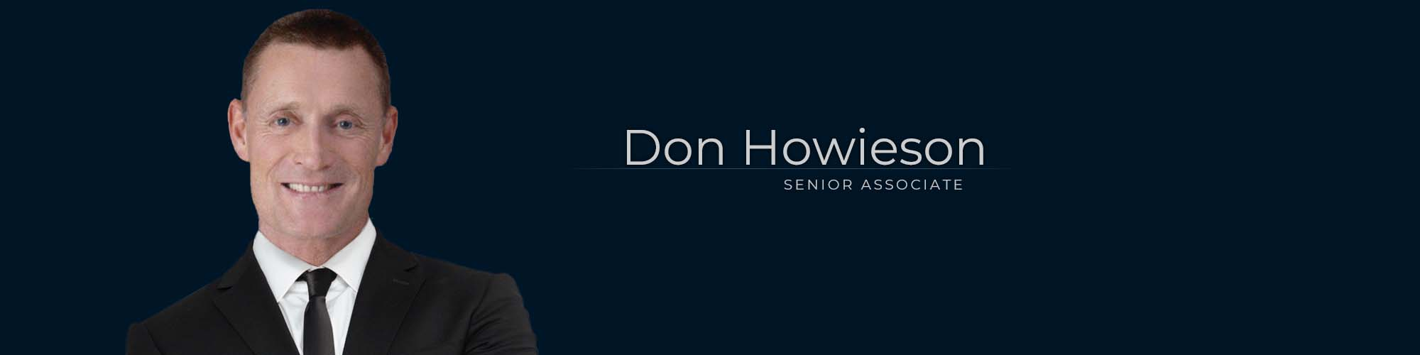 Don Howieson, Senior Associate at Dominion GovLaw LLP